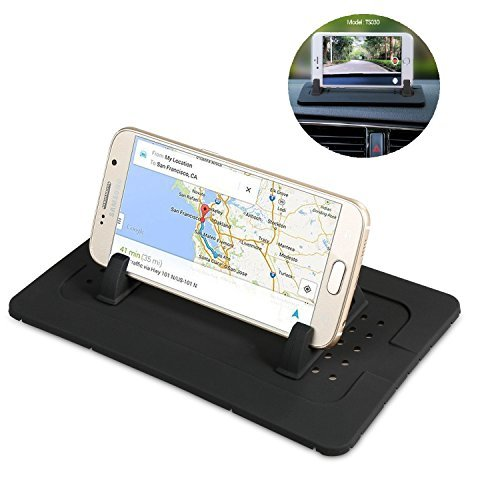 SwirlColor Noir multifonction Car Anti Slip Pad Mobile Phone Shelf Antislip Mat UFmiG2zMQC