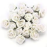 Contenido del envío: Mini rosas de espuma x 100