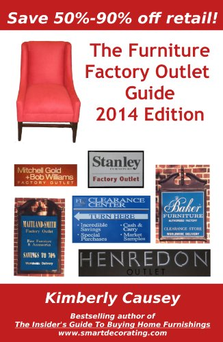 The Furniture Factory Outlet Guide, 2014 Edition (English Edition)