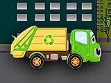Müllwagen - Lernen und bauen