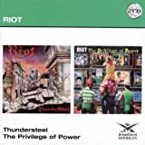 Riot: Thundersteel/the Privilege of Power (2cd) (Audio CD)