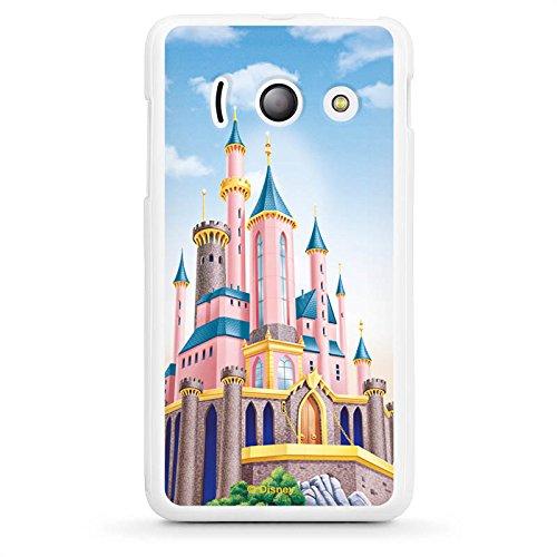 Huawei Ascend Y300 Silikon Hülle Case Schutzhülle Disney Schloss Prinzessin