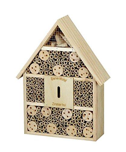 1PLUS Premium Insektenhotel Insektenhaus Nistkasten Brutkasten Bienenhaus ca 28,5 x 9 x 38 cm