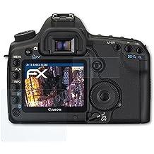 atFoliX Antichoque Película Protectora Canon EOS 5D Mark II Protector Película - Set de 3 - FX-Shock-Clear