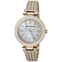 Anne Klein Pink Blush Dial Ladies Watch 1906PMGB