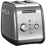 Kitchenaid 5KMT221ECU - Tostadora, 1100 W, color plateado