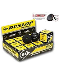 Dunlop Revelation Pro Balles de Squash (Double Point)-1 douzaine