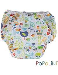 Popolini - Pantalón aprendizaje estampado pequeño (de 9 a 12 kg), jardín