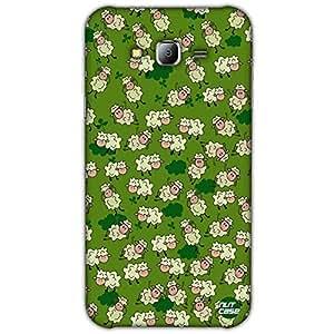 Designer Samsung Galaxy J7 Case Cover Nutcase - Chirping Sheeps