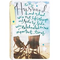 "Hallmark 25448330 Husband Birthday Card ""I Love You"" - Medium"