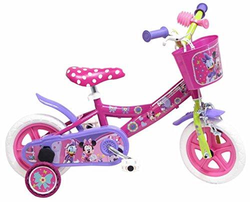 Disney 13164 - Minnie Bicicletta con Freno, 10 Pollici