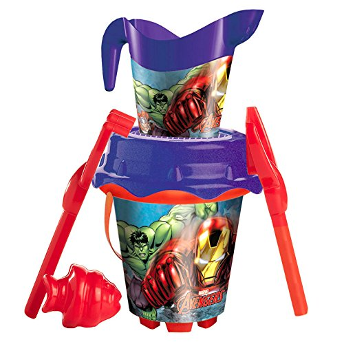 Marvel Avengers sand bucket moulds watering can