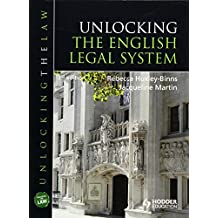 Unlocking The English Legal System (UNTL)