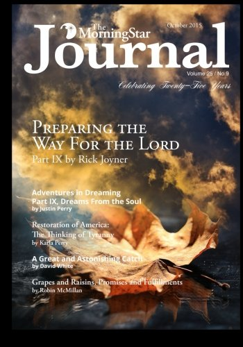 The MorningStar Journal October