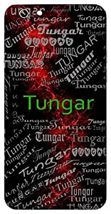 Tungar (High, Lofty) Name & Sign Printed All over customize & Personalized!! Protective back cover for your Smart Phone : One Plus Three ( 1+3 )