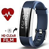 Fitness Tracker, Kinbom Heart Rate Monitor Smart Bracelet With Sleep Monitor, Step Counter, GPS, Message Notification, Bluetooth 4.0, IP67 Waterproof Activity Tracker Smart Watch for Android&iOS Smart Phone