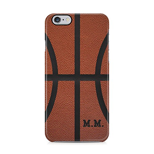 Basketball Ball Personalised Customizable Custom Name Initial Text Create Your Own Gift Present Schutzhülle aus Hartplastik Handy Hülle für iPhone 6 Plus / iPhone 6s Plus Case Hard Cover