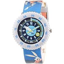 Flik Flak FFL012 - Reloj analógico infantil de cuarzo con correa de plástico multicolor