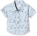 Pumpkin Patch Baby - Jungen T-Shirt Animal Print Shirt, Blau (Cashmere Blue), 68