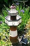 Belle Tout Leuchtturm, 2-stufiger Solar-Kaskadenbrunnen