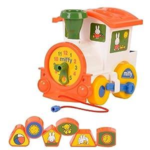Polesie Miffy Loco De plástico vehículo de Juguete - Vehículos de Juguete (De plástico,, Tren, 3 año(s), Niño/niña, 7 Pieza(s))