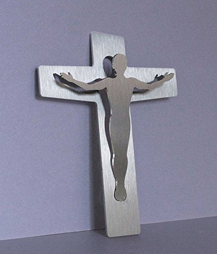 Segens-Kreuz: aus beidseitig gebürstetem Edelstahl par  Martin Burchard