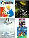 Mini Bücher Bundle 4 – Celina - Kleiner Eisbär Lars Pop-up - Löwenzahn – Horseland – Sandmännchen Pittiplatsch