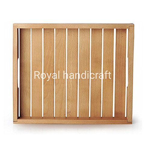 Wooden Hand Crafted lunch Dinner breakfast/Fruit & drink serving tray