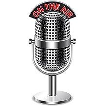 Portachiavi in acrilico forma Microfono On The Air