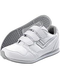 KILLTEC Damen Sneakers, Hallenschuhe KP 720 Velcro, Sportschuhe weiss, 150263-3