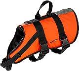 Baltic Schwimmhilfe für Haustiere, mit Klettverschluss und Gurt Orange orange Large 15-40 Kg