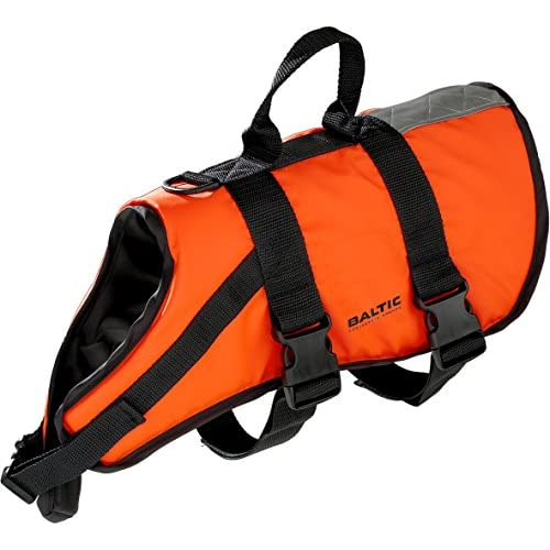 51TrLm89xaL. SS500  - Baltic Standard Fastening Pet Buoyancy Aid with Strap