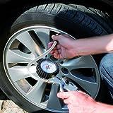 Einhell Reifenfüllmesser passend für Kompressoren (Arbeitsdruck 0-8 bar)