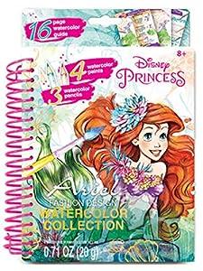 Make it Real 4203 Disney Ariel - Juego de Pintura para Acuarela (tamaño pequeño)