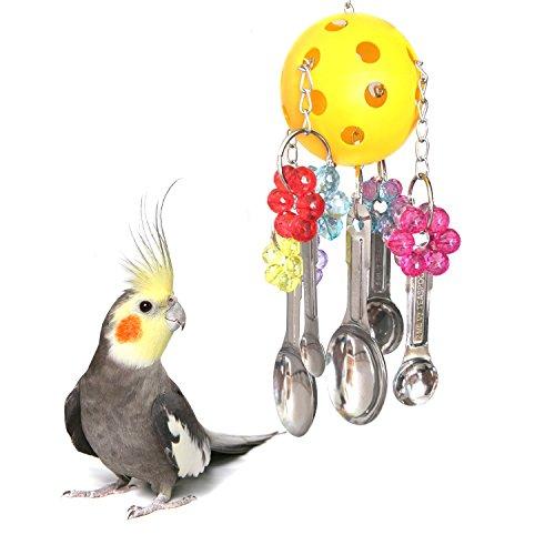 FJROnline - Juguete para Masticar pájaros para Loro, Macao,...