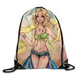 GONIESA Drawstring Bag Britney Spears Snake 90s Pop Stars Nylon Home Travel Sport Storage