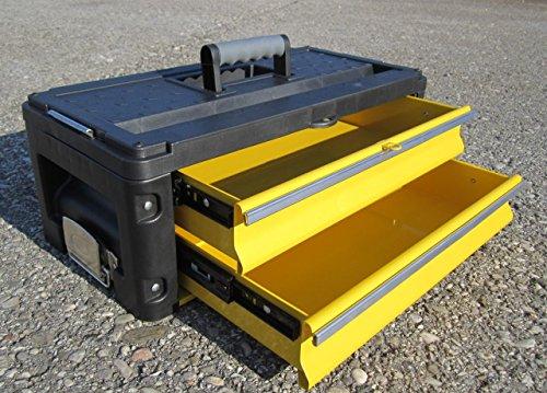 Werkzeugkiste Erweiterungsbox mit 2 Laden für unsere Trolleys Serie 305 von AS-S