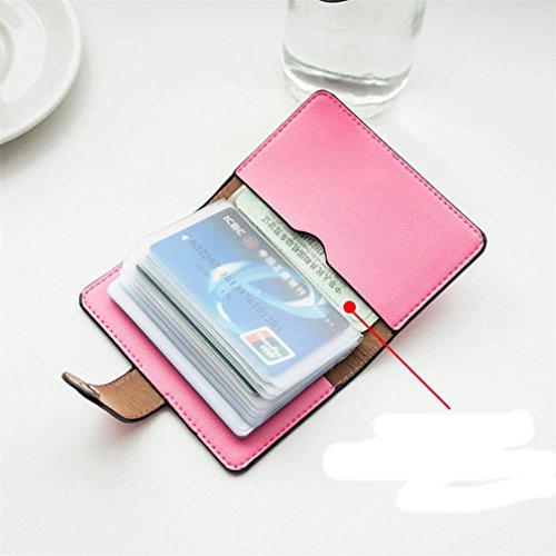 Portafoglio Piccolo Donna per Carte di Credito - Multi Slots Blu