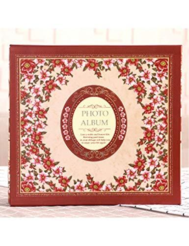 WJSWX Album New Large 5 Zoll 600 Interstitial Album Child Growth Album Reiseerinnerungen Fotohalter Senden Sie Kinder Geschenke Foto-Sammlung