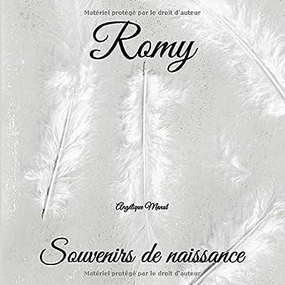 ROMY souvenirs de naissance: album à compléter et personnaliser avec vos photos