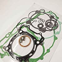 Bobury Kit de Junta Superior e Inferior Fin Conjunto Kit Adecuado para Yamaha YFZ450 YFZ 450 2004-2009 Accesorios de la Motocicleta