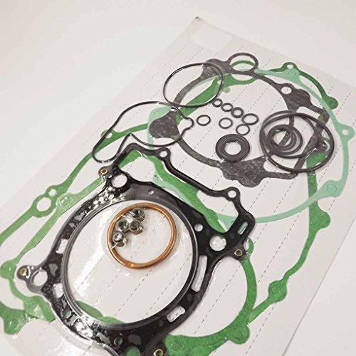 Joint Kit Haut et Bas Fin Set Kit Convient pour Yamaha YFZ450 YFZ 450 2004-2009 Accessoires Moto Regard
