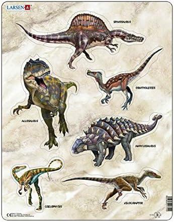 Larsen X12 Puzzle Encadré Dinosaures 30 Pièces Pièces Pièces B00900T8LI e18b72