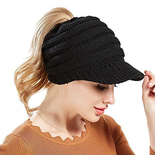 KelaSip Strickmützen für Damen Winter warme Weiche Beanie Caps Schachtelhalm Hut Baseballmütze