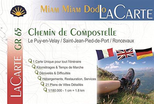 Lacarte-miam-miam-dodo (Le Puy-en-Velay/St-Jean-Pied-de-Port/Ronceveaux) par Jacques Clouteau