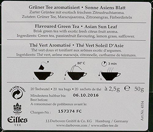 Eilles Tea Diamonds Sonne Asiens Exotischer Grüner Tee