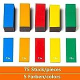 confezione da 12 pezzi Calamite medie per lufficio e il frigorifero colore: Verde 30 x 8 mm Magnet Expert Ltd per lavagna