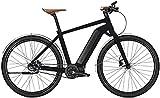Kalkhoff Integrale LTD Wood Elektro Fahrrad/Trekking eBike 2017 (Magicblack matt, 55)
