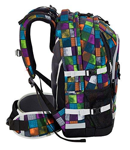 4You Basic Schulrucksack Jump 328 Miami Squares 328 miami squares - 2