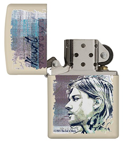 Zippo 60.002.308 Feuerzeug Kurt Cobain Collection Spring 2016, creme matte - 4